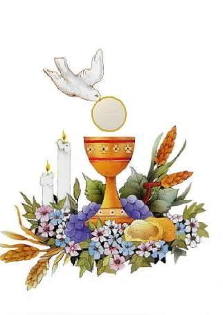 eucharist first communion immaculate conception catholic church